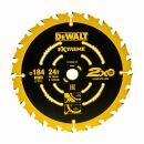 DeWalt Kreissägeblatt DT10302-QZ, 184 x 16 mm, Zähnezahl 24