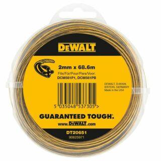 DeWaltTrimmer-Faden 68,6 m / 2,0 mm