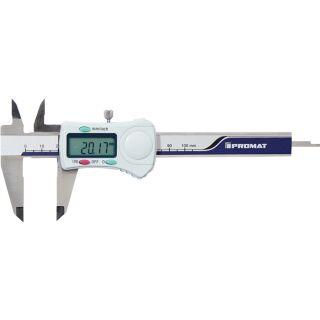 Messschieber DIN 862 100 mm digital mit Feststellschraube eckig PROMAT