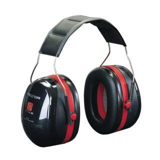 Gehörschutz OPTIME III EN 352-1-3 SNR 35 dB gepolsterter Kopfbügel doppelschalige Kapseln 3M