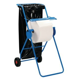 Bodenständer 6155 H1090xB500xT740ca. mm fahrbar, mit Halterung für Abfallsäcke KIMBERLY-CLARK
