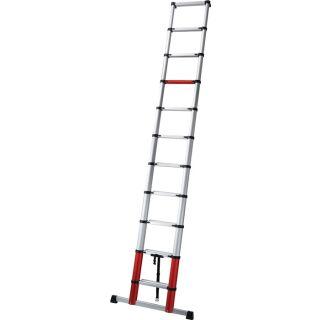 Teleskopleiter Aluminium 11 Sprossen max. Gesamtbelastung 150 kg im Karton