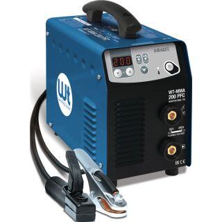 Elektrodenschweißgerät WT-MMA 200 PFC mit Zubehör 10 - 200 A WELDING TEAM