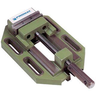 Bohrmaschinenschraubstock Backenbreite 125 mm Spannweite 130 mm PROMAT