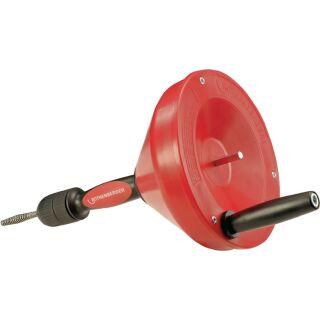 Hand-/Elektrorohrreinigungsgerät Rospi 8 H+E Plus Spirallänge 7,5 m Spiralen-D. 8 mm ROTHENBERGER