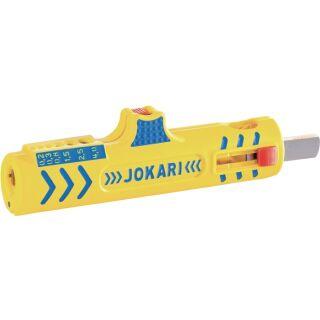 Abmantelungswerkzeug Secura Nr. 15 Gesamtlänge 124 mm Arbeitsbereich D. 8,0 - 13,0 mm 0,2 - 4,0 (Litze) mm² JOKARI