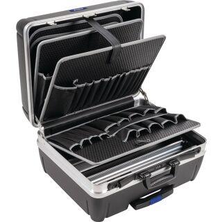 Schalenkoffer Innen-B485xT230xH375mm HDPE-Material 42 l Alu-Rahmen PROMAT