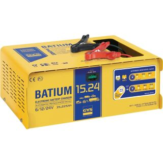Batterieladegerät BATIUM 15-24 6 / 12 / 24 V effektiv: 22 / arithmetisch: 7-10-15 A GYS
