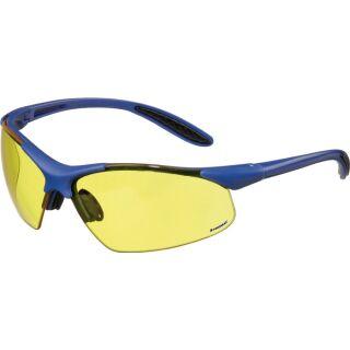 Schutzbrille DAYLIGHT PREMIUM EN 166 Bügel dunkelblau, Scheibe gelb Polycarbonat PROMAT
