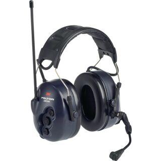 Gehörschutzfunkgerät Peltor LiteCom Sprechmikrofon Nahbereichskommunikation EN 352-1:2002 EN 352-3:2002 32 dB 3M