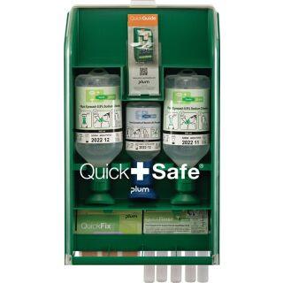 QuickSafe Box Basic befüllt PLUM