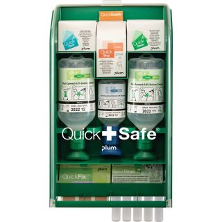 QuickSafe Box Complete befüllt PLUM