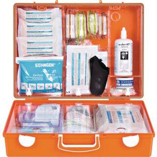 Erste Hilfe Koffer Beruf SPEZIAL Werkstatt B400xH300xT150ca.mm orange SÖHNGEN