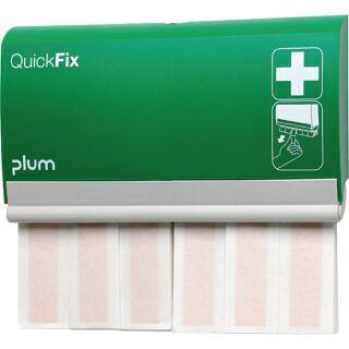 Pflasterspender QuickFix B232,5xH133,5xT33ca. mm grün PLUM