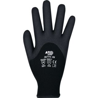 Kälteschutzhandschuhe  schwarz EN 388, EN 511 PSA-Kategorie II ASATEX
