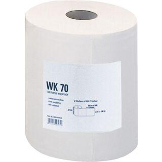Putztuch WK 70 L380xB290ca. mm weiß 1-lagig Rolle PROMAT
