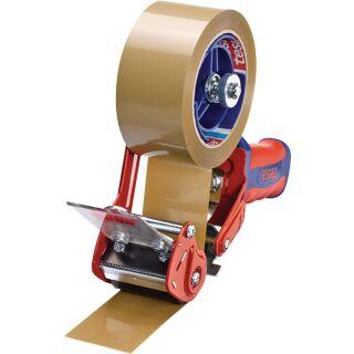 Handabroller Comfort 6400 Metall rot/blau für Bandbreite 50 mm TESA