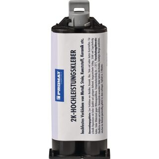 2K-Hochleistungskleber 50 g milchig Doppelkartusche PROMAT CHEMICALS
