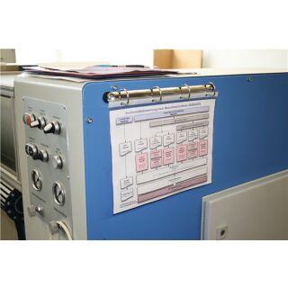 4-Ringmechanik verzinkt passend für DIN A4 Hüllen EICHNER