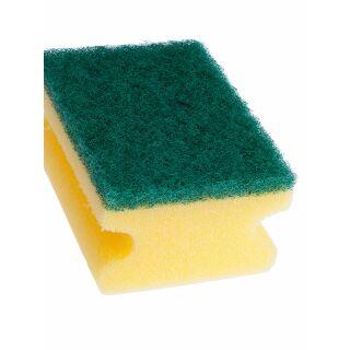 Topfschwamm gelb-grün 9.5 cm x 7.5 cm x 4.5 cm 10 Stk.