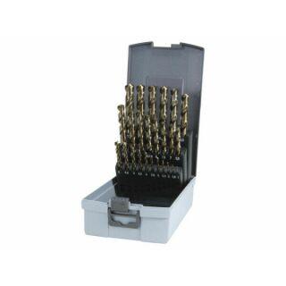 Ruko Spiralbohrersatz 25 tlg. HSSE-Co DIN338 Typ VA  1-13x0,5mm steigend