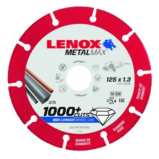 Diamanttrennscheibe MetalMax 125mm X 1,3mm