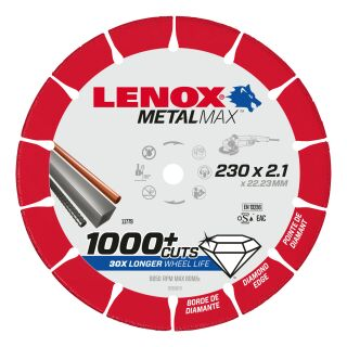 Diamanttrennscheibe MetalMax 230mm X 2,1mm