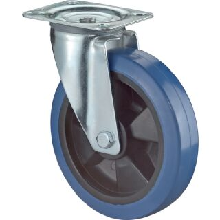 Lenkrolle Kunststoff mit Anschraubplatte