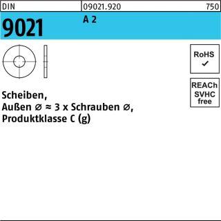 Unterlegscheibe DIN 9021 A2