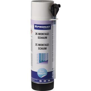 2K-Montageschaum 400 ml B2 hellgrün mit Einweghandschuhen Dose PROMAT CHEMICALS