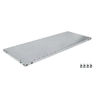 Schulte Zusatz-Fachboden MULTIplus150 1300 x 500 mm, verzinkt, inkl. 4 Fachbodenträgern