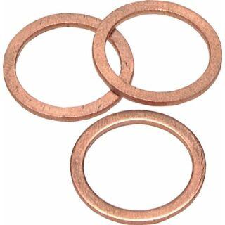 """Dichtring aus Kupfer, für G 1/8"""" (10,2x13,9x1,0 mm)"""