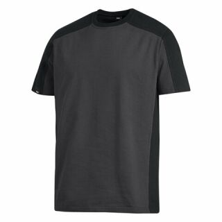 T-Shirt MARC anthrazit/schwarz 100 % Ringspinn-Baumwolle FHB