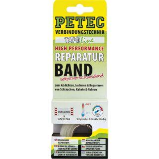 Petec Reparaturband High Performance Tapeline, transparent 3 m